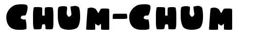 Chum-Chum font