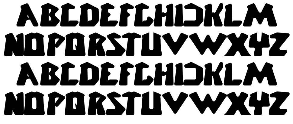 Chunky Bar шрифт