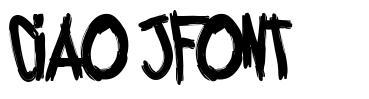 Ciao jFont