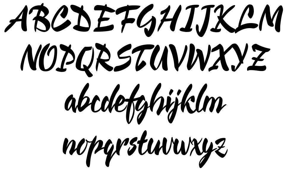 Cienfuegos písmo