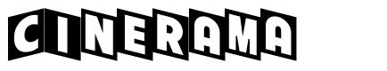 Cinerama font