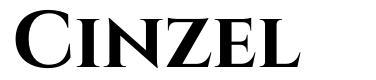 Cinzel font