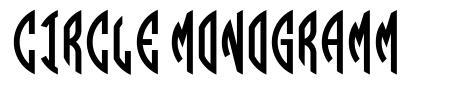 Circle Monogramm font
