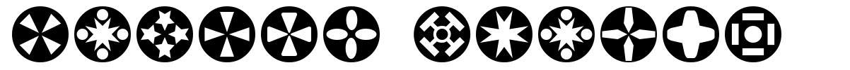 Circle Things font