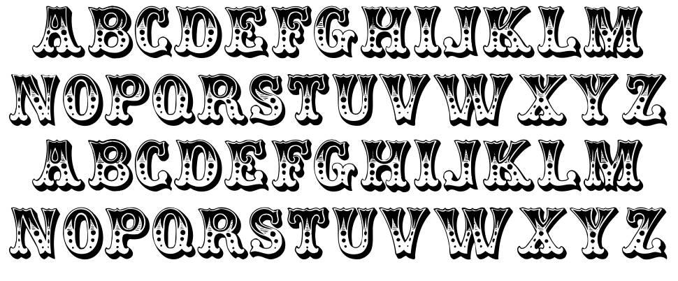 Circus 字形