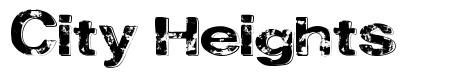 City Heights font
