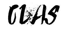 Clas шрифт