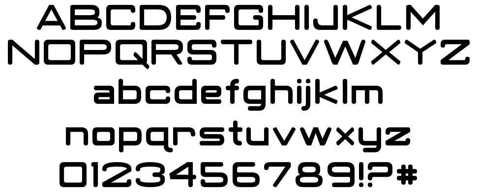 robotic fonts