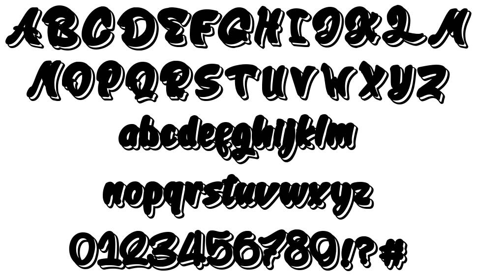 Cleanliness Power font