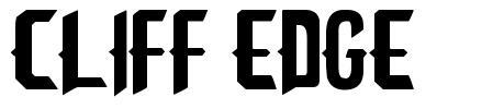 Cliff Edge font