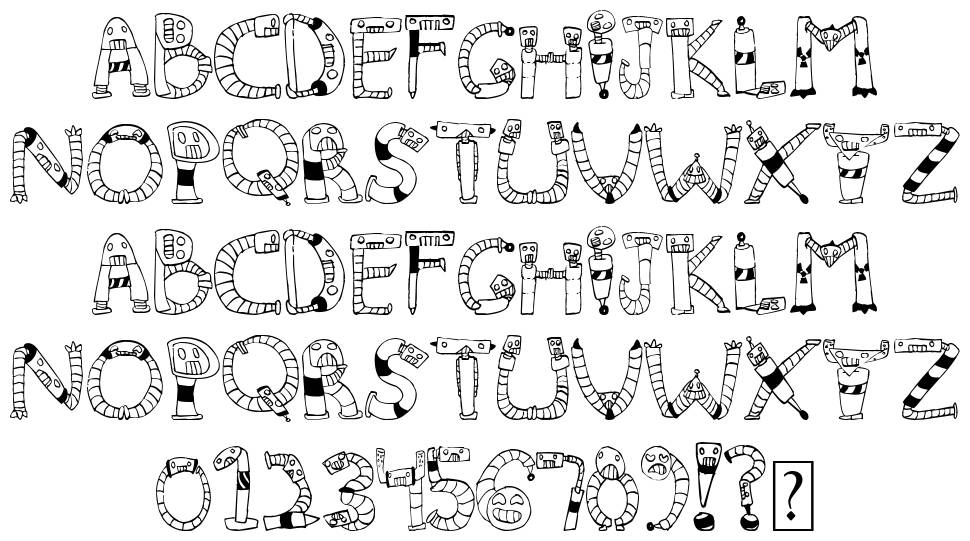 Clink Clank font