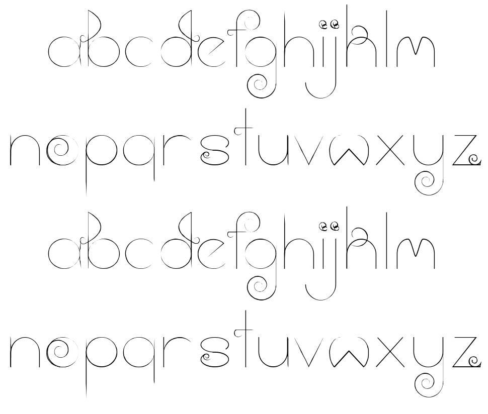 Cloud font