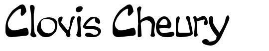 Clovis Cheury