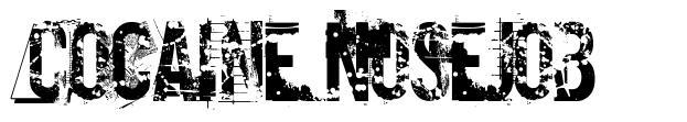 Cocaine Nosejob 字形