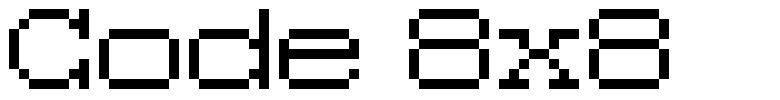 Code 8x8
