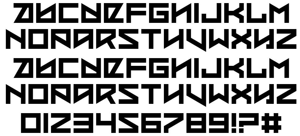 Coded Message font
