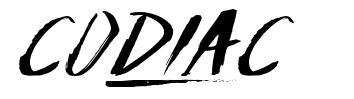 Codiac font