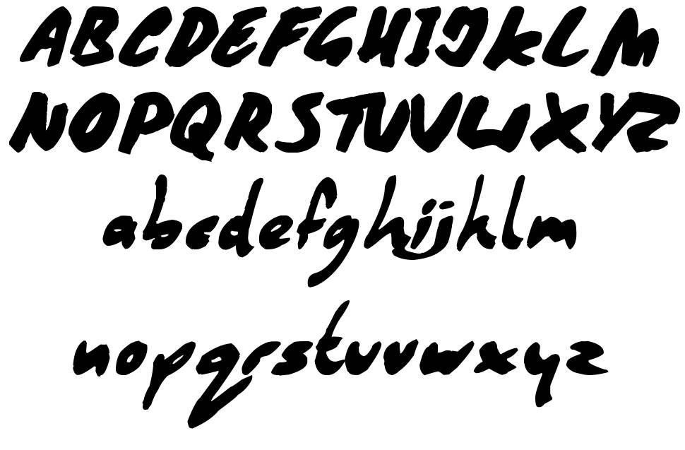 Coffee Mocha font