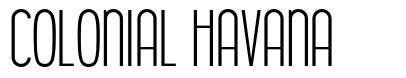 Colonial Havana font