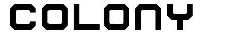 Colony font