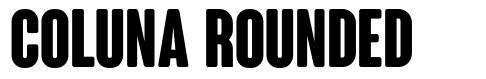 Coluna Rounded font