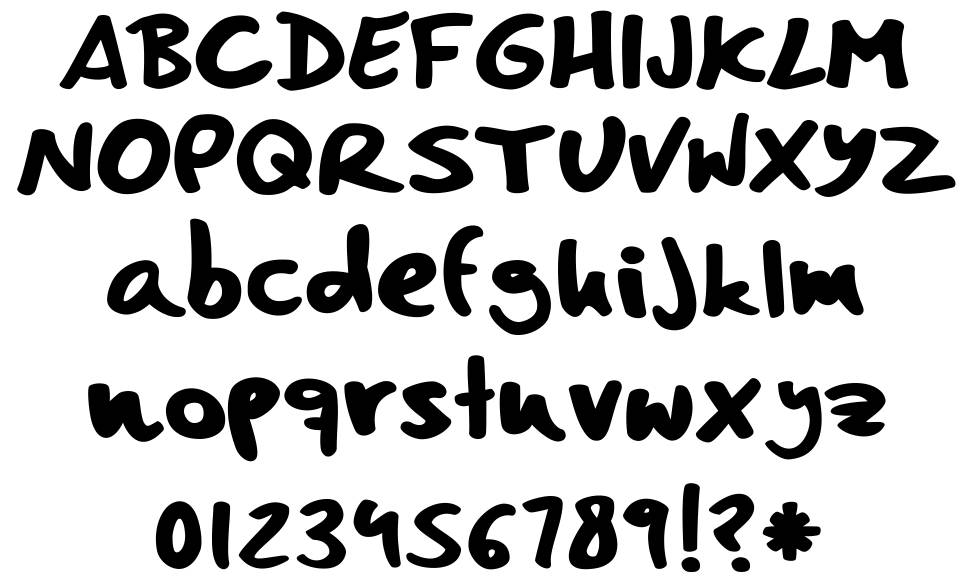 Comic Book Fun font