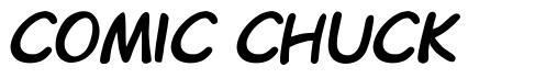 Comic Chuck font
