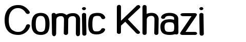 Comic Khazi font