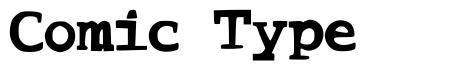 Comic Type font