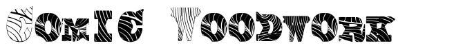 Comic Woodwork font