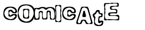 Comicate font