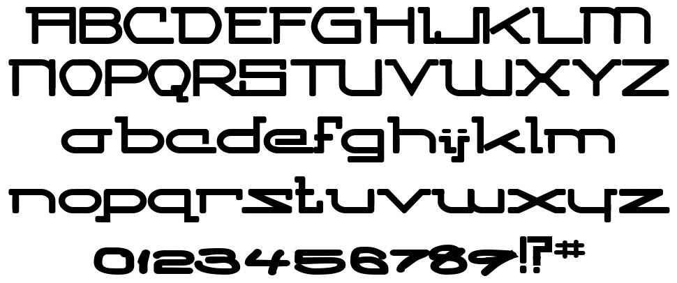 Competitor font