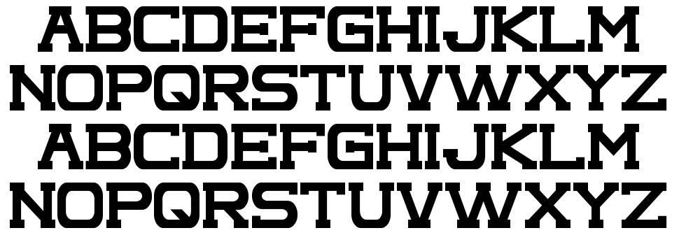 Complex font
