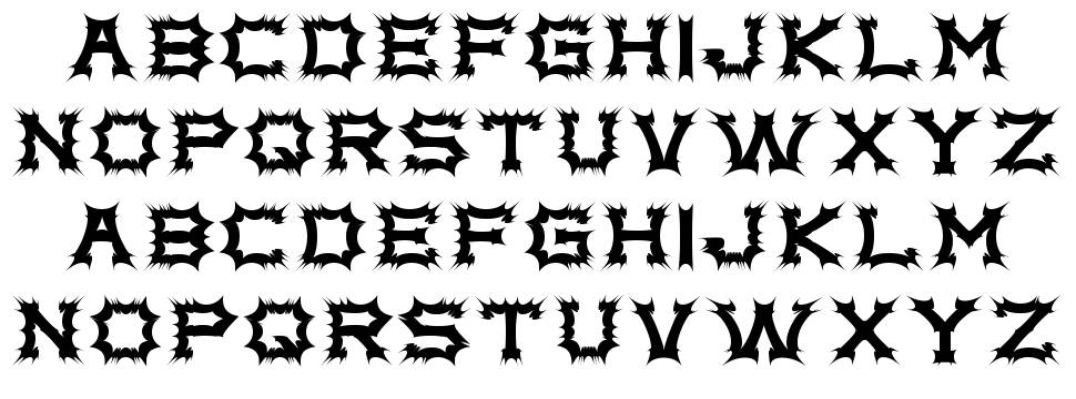 Complex bruja шрифт