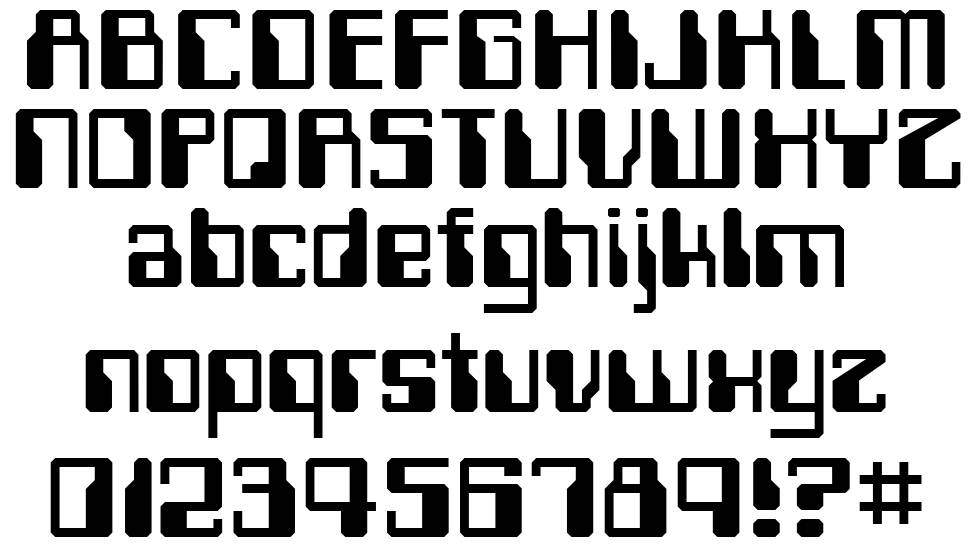 Computerfont fonte