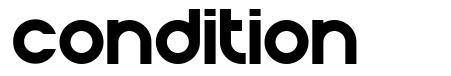 Condition font