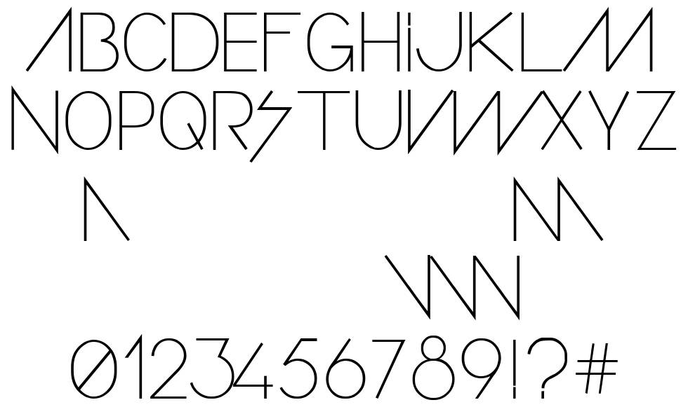 Confusion Girl font