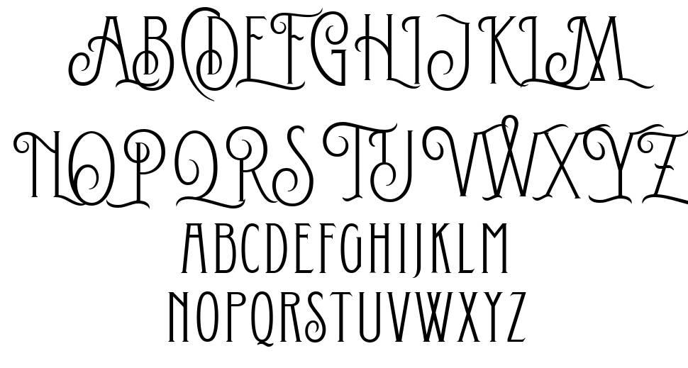Conserta Royal font