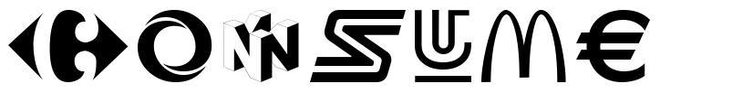 COnsume 字形