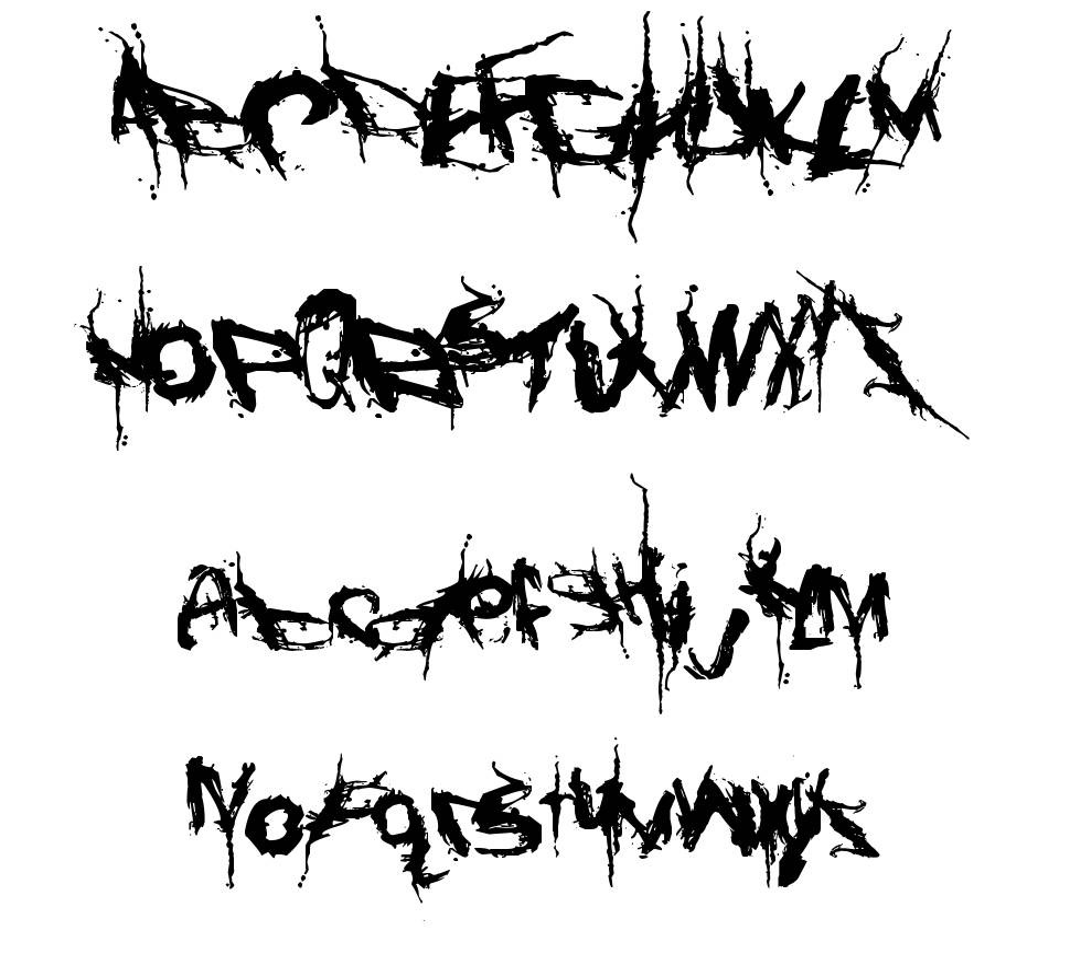 Convalescence font