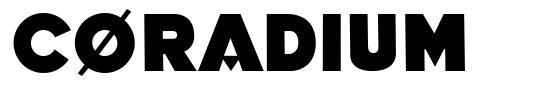 Coradium font