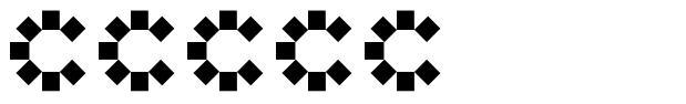 Corel 字形