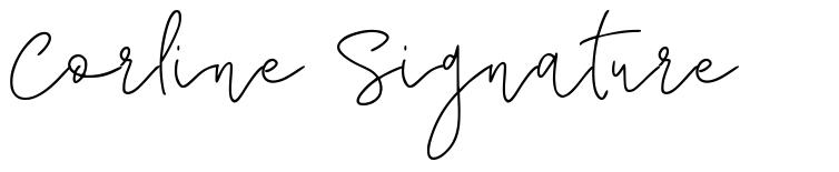 Corline Signature