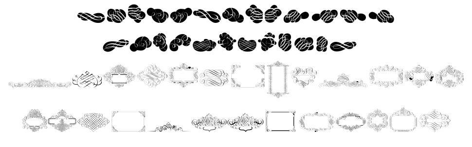 Cornucopia Caligrafica font