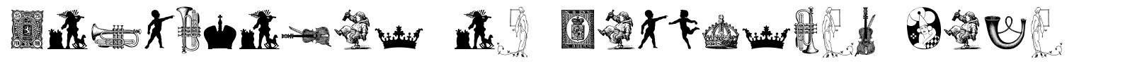 Cornucopia of Dingbates Five font