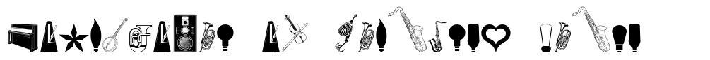 Cornucopia of Dingbats Eight font