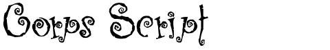 Corps Script