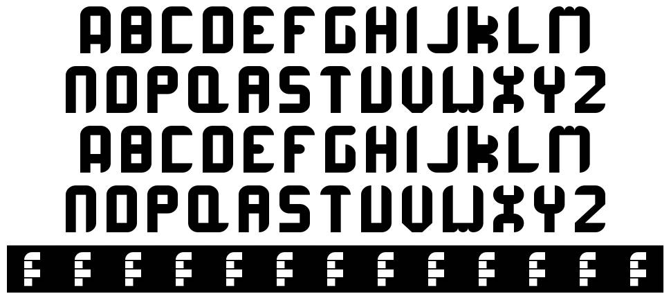 Corrupta Rounded font