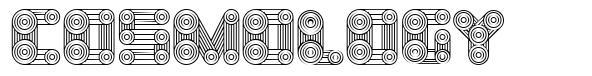 Cosmology 字形