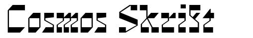 Cosmos Skrift font